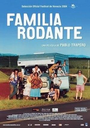 Familia rodante - Theatrical release poster