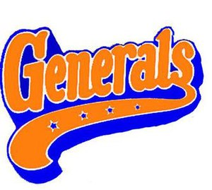 Fayetteville Generals - Image: Fayetteville Generals logo