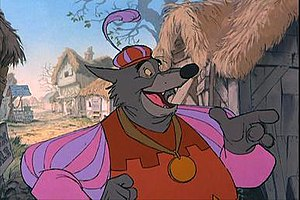 Sheriff of Nottingham - The Sheriff of Nottingham in the 1973 animated film, Robin Hood