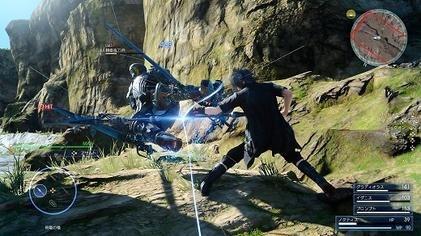 Final Fantasy XV gameplay