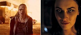 Jennifer's Body - Image: Fire and Jennifer's demon eyes