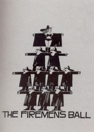 The Firemen's Ball - Theatrical release poster by Saul Bass
