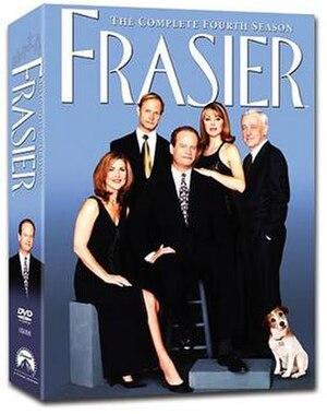 Frasier (season 4) - DVD cover