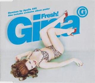 Fresh! (Gina G song) 1997 single by Gina G