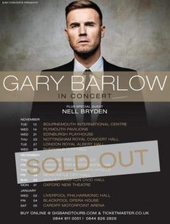 Gary Barlow in Concert (2011 concert tour)
