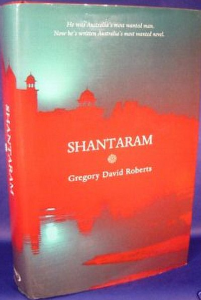 Picture of a book: Shantaram