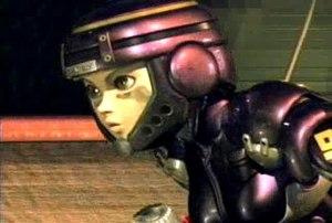 Battle Angel Alita - Alita as depicted in the CG movie