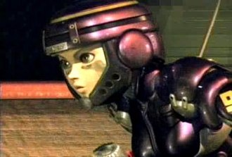 Battle Angel Alita - Alita as depicted in the CG movie