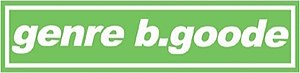 Genre b.goode - Image: Genrebgoode logo