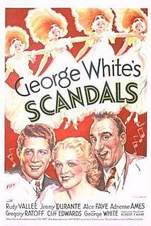 <i>George Whites Scandals</i> (1934 film) 1934 film by George White