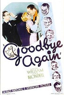 <i>Goodbye Again</i> (1933 film) 1933 film