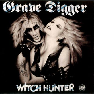 Witch Hunter (album) - Image: Grave Digger Witchhunter