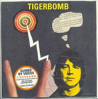 <i>Tigerbomb</i> 1995 EP by Guided by Voices