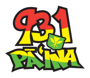 KQMQ-FM - Image: Hawaii 931Da Paina