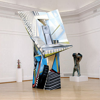 Ivor Abrahams - Head of the stairs, 2001