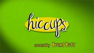Hiccups (TV series) - Title card