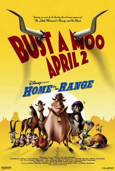 Picture of a movie: Home On The Range