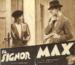 Il signor Max - Theatrical release poster