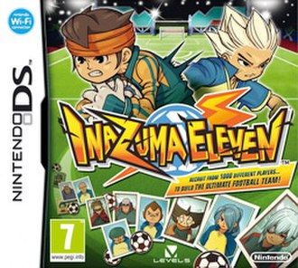 Inazuma Eleven - European cover art