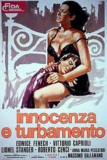 <i>Innocence and Desire</i> 1974 film by Massimo Dallamano