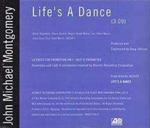 Life's a Dance (song) - Image: John Michael Montgomery Lifes A Dance vinyl