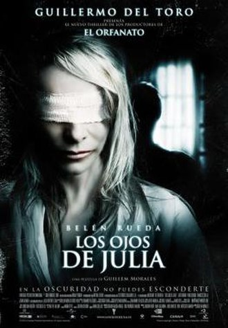 Julia's Eyes - Theatrical release poster