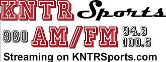 KNTR - Image: KNTR sports 980 94.3 100.5 logo
