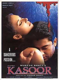 <i>Kasoor</i> 2001 film by Vikram Bhatt
