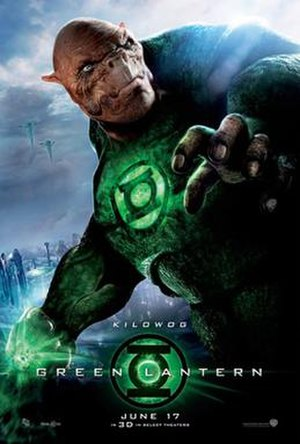 Kilowog - Kilowog as he appeared in Green Lantern
