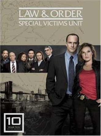 Law & Order: Special Victims Unit (season 10) - Season 10 U.S. DVD cover