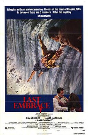 Last Embrace - Theatrical release poster