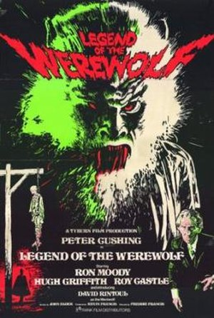 Legend of the Werewolf - Promotional movie poster for the film