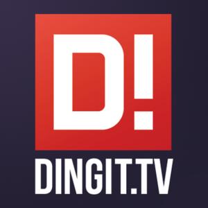 Dingit.tv - The current logo.