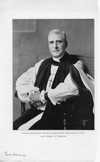 Arthur Carlisle - Image: London Public Library R Ight Rev Arthur Carlisle