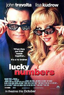 <i>Lucky Numbers</i> 2000 American film directed by Nora Ephron