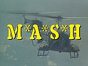 M*A*S*H title screen from the television series