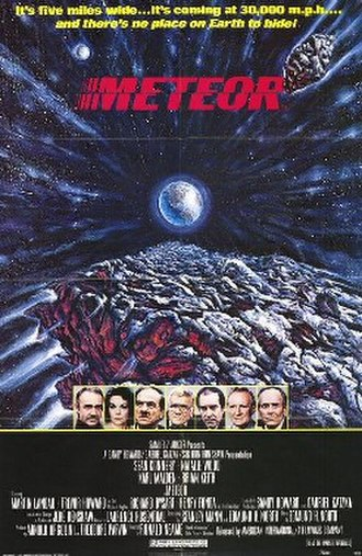 Meteor (film) - Theatrical release poster