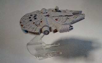 Millennium Falcon - Falcon toy from Poundland