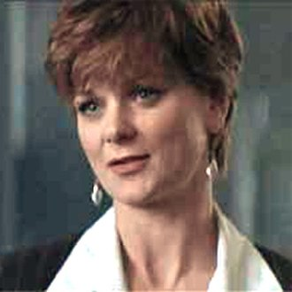 Miss Moneypenny - Samantha Bond in Tomorrow Never Dies