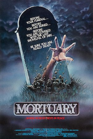 Mortuary (1983 American film) - Original movie poster