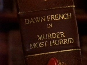 Murder Most Horrid - Title screen