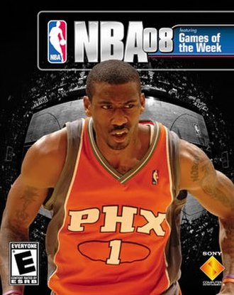 NBA (video game series) - Image: NBA 08 front