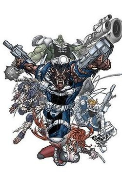 Nick Fury's Howling Commandos Super Hero