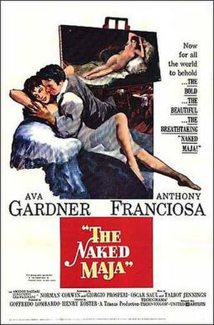 The Naked Maja - Theatrical Film Poster
