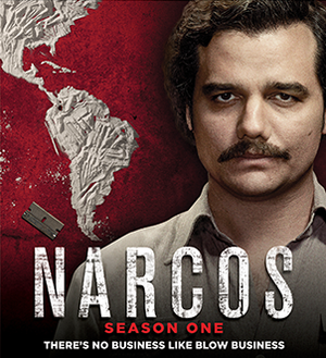 Narcos (season 1) - Blu-ray cover