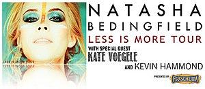 Kevin Hammond (singer-songwriter) - Natasha Bedingfield 'Less is More' Tour