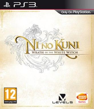 Ni no Kuni: Wrath of the White Witch - European cover art