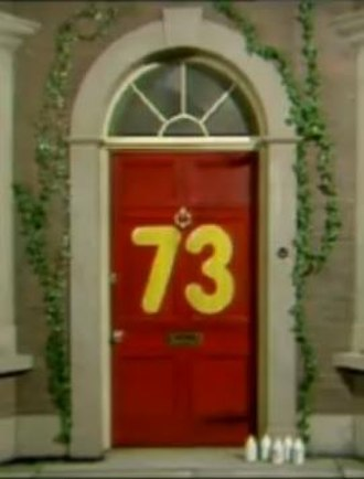 No. 73 - Door to the No. 73 house as featured in opening credits
