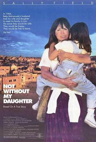 Not Without My Daughter (film) - Theatrical release poster
