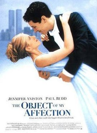 The Object of My Affection - Theatrical release poster